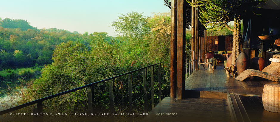 Lebombo Falls Lodge, Kruger National Park